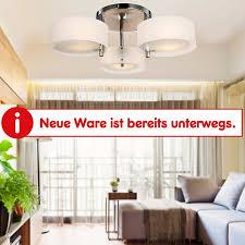 homcom deckenle 3 flammig weiß 64 x 20 cm øxh hängeleuchte hängele kronleuchter wohnzimmer