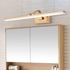 led wandle spiegelleuchte eckiges design aus acryl eisen
