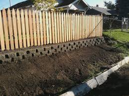 A Wood Fence On Slope | Category Archives: Fence | Gardens ... Brick Garden Wall Designs Short Retaing Ideas Landscape For Download Backyard Design Do You Need A Building Timber Howtos Diy Question About Relandscaping My Backyard Building Retaing Fire Pit On Hillside With Walls Above And Below 25 Trending Rock Wall Ideas Pinterest Natural Cheap Landscaping A Modular Block Rhapes Sloping Also Back Palm Trees Grow Easily In Out Sunny Tiered Projects Yard Landscaping Sloped