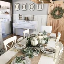 Theres Nothing More Uninviting Than A Ethereal Home And For Me Farmhouse Inspired Homes Are Just The Opposite To That This Dining Room Not Only Feels