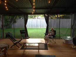 Vinyl Patio Curtains Outdoor by Patio Screening Examples From Diy Homeowners