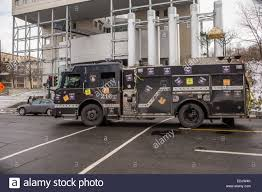 100 Black Fire Truck A Firetruck Painted In Black Is Pictured In Montreal Stock Photo