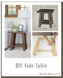 Bedside Table Plans Bedside Table Woodworking Plans White Farmhouse