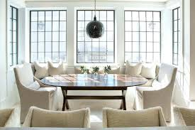 Window Seat Dining Table Banquette Kitchen Sweet Looking With