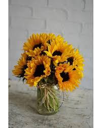 Rustic Radiance Flower Arrangement