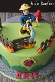 fondant sam feuerwehrmann torte torta para fan de sam el