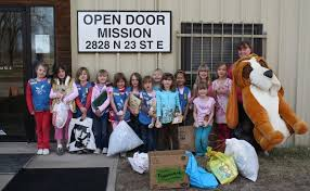 Rescue Blog Daisy girl Troop Supports the Open Door Mission