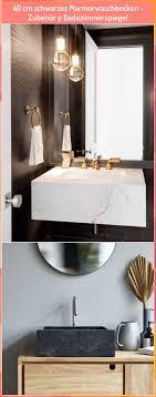 40 cm schwarzes marmorwaschbecken zubehör p