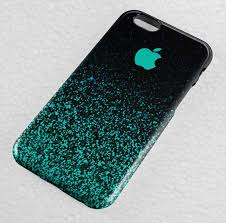 Ombre Mint Sparkle iPhone Case iPhone 5 5S 5C SE iPhone 6 6S