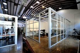 We Recently Designed An Office With A Similar Feel Partitioning Off The Space Glass Is Great Way To Provide Open Floorplan Some For