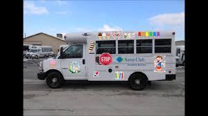 Sam's Club Ice Cream Truck Blue Bird Bus Body Playing Twinkle ...