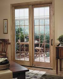 French Patio Doors With Built In Blinds by French Patio Doors With Dog Door Built In