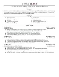 Resume Summaries Examples Warehouse Worker Objective Samples Summary For Resumes Entry Level Cover Letter