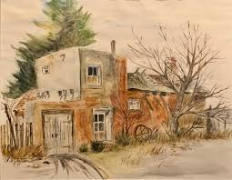 101 Simpatico Homes Adobe Dwelling Diane Trinkaus Art Gallery Paintings Prints Buildings Architecture Country Other Country Artpal
