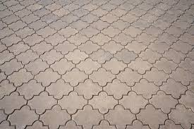 Paving From Stone Figured Tiles Top View Photo By BalaguR