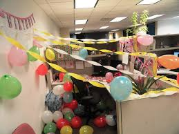 Cubicle Decoration Ideas In Office by Office Cubicle Birthday Decorating Ideas Trellischicago