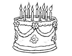 Drawn cake easy 5
