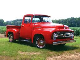 100 Best Old Trucks 1956fordpickuptruck 1956 Ford Red Pick Up Truck Truck