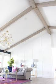 100 Beams In Ceiling The RESULT Of My DIY Faux Wood Classy Clutter