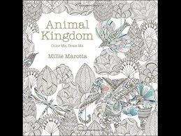 Flip Through Animal Kingdom Coloring Book By Millie Marotta