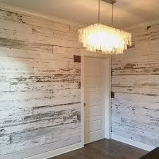 Heres A Look At Recent White Wall We Created Using Our Reclaimed Barn Wood
