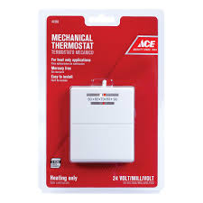 Easy Heat Warm Tiles Thermostat Problems by Ace Heat Only Economy Thermostat Thermostats Ace Hardware