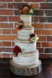 31 Naked Wedding Cakes Every Rustic Bride Will Love