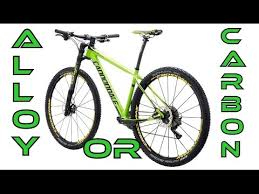Cannondale F SI Carbon vs Alloy XC Race Mountain Bike Asymmetric