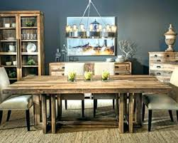 Rustic Wood Kitchen Table Reclaimed Dining Room Tables Imposing Design Wooden Marvelous