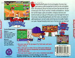 Backyard Baseball For Mac Download | Home Design & Interior Design Backyard Baseball 09 Pc 2008 Ebay Pablo Sanchez The Origin Of A Video Game Legend Only 1997 Ai Plays Backyard Seball Game Stponed Offline New Download Pc Vtorsecurityme Backyardsportsfc Deviantart Gallery Gamecube Outdoor Goods Whatever Happened To Humongous Gather Your Party Sports 2015 1500 Apk Android Free Home Design Ipirations Mac Emulator Ideas