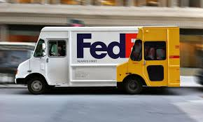 Clever FedEx Truck Design : Funny