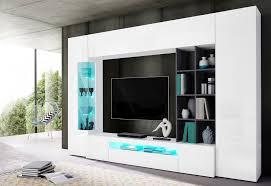 tecnos wohnwand set 5 tlg fsc zertifizierter