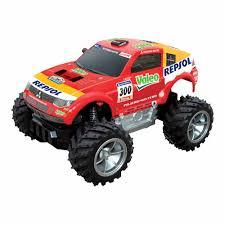 100 Monster Truck Remote Control Rastar Red Pajero Car
