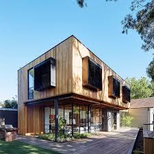 Modern Wooden House In Australia Modern Houses Modern Wooden