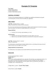 Example Resumes For Jobs Resume Profile Examples Management Career Change Best Accounting