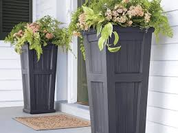 How To Make Tall Outdoor Planters