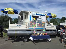 Pontoon Boat Sinks Nj by 2009 Custom Pontoon Concession Boat Business For Sale Powerboat