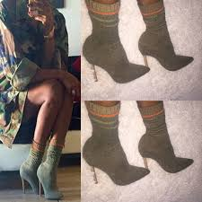 diy yeezy inspired knit sock boots inspired by thenuvogue