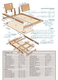 Plans For Wood Platform Bed by How To Build A Custom Platform Bed Frame With Cantilever Supports