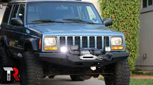 100 Kc Truck Lights Jeep XJ OffRoad LED Light Install KC G34s YouTube