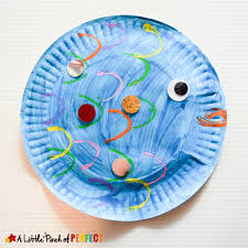 Paper Plate Fish Craft Inspired By The Rainbow A Perfect Read And Book