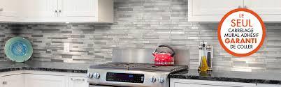 stickers cuisine carrelage revetement adhesif mural cuisine affordable revetement adhesif