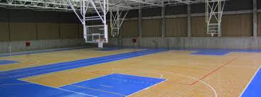 Gym Floors And Outdoor Courts For Commercial Facilities | Sport Court Outdoor Courts For Sport Backyard Basketball Court Gym Floors 6 Reasons To Install A Synlawn Design Enchanting Flooring Backyards Winsome Surfaces And Paint 50 Quecasita Download Cost Garden Splendid A 123 Installation Large Patio Turned System Photo Album Fascating Paver Yard Decor Ideas Building The At The American Center Youtube With Images On And Commercial Facilities