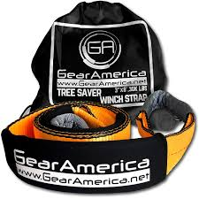 100 Truck And Winch Coupon Code Amazoncom GearAmerica HeavyDuty Tree Saver Strap OffRoad