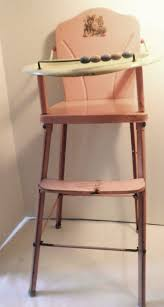 Cosco Flat Folding High Chair by 100 Best 1950s Vintage High Chair Images On Pinterest 1950s