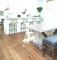 Rustic White Dining Set Distressed Table Wood
