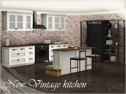 New Vintage Kitchen Part 1 By Gosik