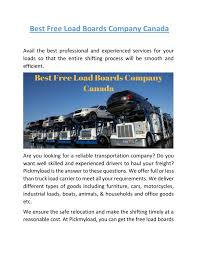 Best Free Load Boards Company Canada | Pickmyload.com By ... Dat Power Load Board How To Find Truck Loads Youtube Become A Freight Carrier With Coyote Best May 2016 Why Is The Way Supplement Loadscomfreight Blog Hot Shot Hot Shot Freight Load Board Instant Pay Fr8star Freightloads For Dry Vans Fl Tx Ca More Haulhound Boards For Drivers 4 Tips Fding A Boards Mobile Evolution Brokers Direct Free The Ultimate Guide