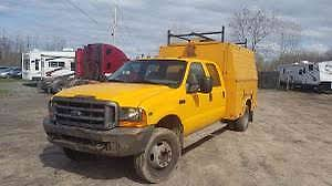 100 F450 Truck Ford 2000 Utility Service S