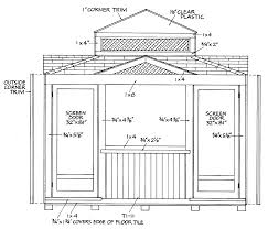 12x12 Storage Shed Plans Free by How To Guides On Shed Construction Article Center